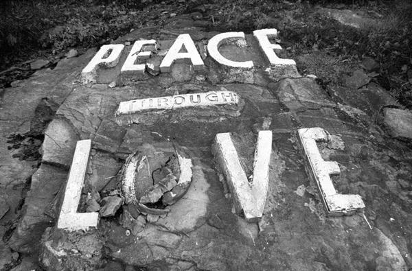 Peace Through Love. Mt. Holy